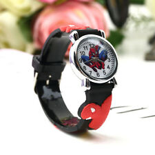 Marvel Cartoon Child Boys Kids Analog Quartz Wrist Watch Rubber LE
