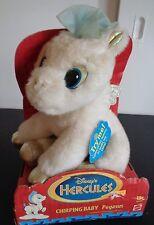 Disney's HERCULES Vintage 1996 Toy CHIRPING BABY PEGASUS Plush NEW Mattel 17259
