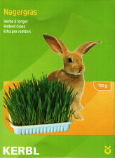 Nibble Grass Seeds for rabbits & small pets/dish + mineral soil/healthy food