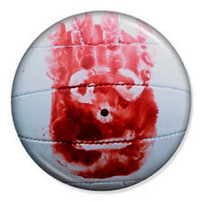 "Wilson 25mm 1"" Pin Badge Button Tom Hanks Castaway Volleyball Funny Geek Movie"