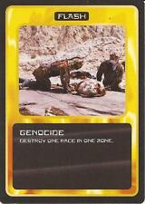"""Doctor Who MMG CCG - Flash """"Genocide"""" Card"""
