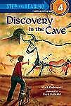 Discovery in the Cave (Step into Reading)-ExLibrary