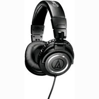 Audio-Technica ATH-M50 Professional Closed-Back Studio Headphones with Straight