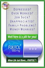 *FUKITOL!* TODAY'S SPECIAL DEAL! METAL SIGN 8X12 MADE IN USA! MAN CAVE FUNNY BAR