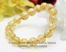 Citrine 8mm Round Bead bracelet - Original (A+) quality /Citrine attracts wealth