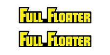 1981-1982 RM125, RM250 & RM465 FULL FLOATER Swing Arm Decals