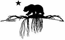 This is a California bear roots sticker, reggae, rasta, cali love. So Cal