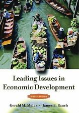Leading Issues in Economic Development by James E. Rauch and Gerald M. Meier...