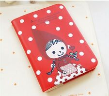 SHINZI KATOH PASSPORT BOX COVER HOLDER CASE PVC- Little Red Hood