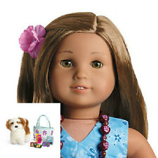 American Girl KANANI DOLL + ACCESSORIES Dog Tote Camera FAST SHIP for Kanani's