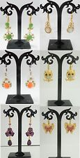 A-25 Wholesale Jewelry lots 12 pairs Mixed Style Drop/Buttons Fashion  Earrings