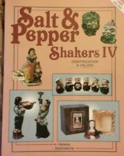 Salt and Pepper Shaker ID Value Guide Book People Places Things++