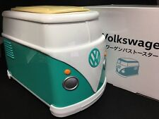 "New Volkswagen Mini Bus Toaster GREEN VW Official Limited ""Not For Sale"" F/S"