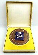 Medaille: VEB Technische Gebäudeausrüstung Dresden TGA Dank u. Anerkennung e1432