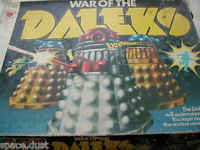 WAR OF THE DALEKS GAME - DENYS FISHER - 1975  - WAR OF THE DALEKS - VINTAGE GAME