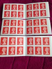 NEW 36 Postage Stamps FIRST 1st CLASS Red Book of  UK Postage