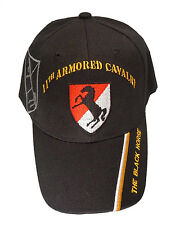 Officially Licensed US Army 11th Armored Cavalry Regiment Cap 262-BLK
