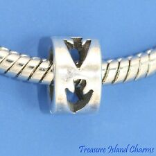 ARROW .925 Solid Sterling Silver EUROPEAN EURO Spacer Bead Charm