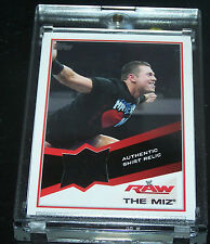 Topps WWE 2013 Trading Card The Miz Authentic Shirt Relic # 2