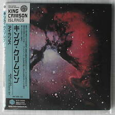 KING CRIMSON - Islands JAPAN MINI LP CD IECP-10006