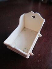 Vintage Fisher Price Dollhouse Doll house Cradle Rocker 257 Babys Room 1978-1985