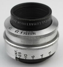 BELL & HOWELL 25 25mm f/1.9 Lens for BlackMagic GH2 GH3 GH4 BMPCC BMCC Bolex PEN