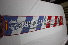 Bufanda Futbol UEFA CUP 2006 SEVILLA F.C.-SCHALKE 04 FAMOSO GOL PUERTA  SCARF