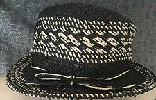 AMERICAN EAGLE OUTFITTERS Back Straw Fedora Hat, NWT, One Size