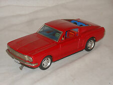 TAIYO - RUSHER FORD MUSTANG - VINTAGE TIN TOY TINPLATE - JAPAN - BULLIT