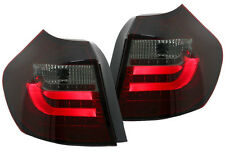 Ultra BMW 1 Series Red & Smoked LED Light Bar Rear Back Tail Lights Lamps - PAIR