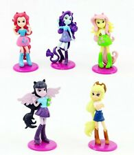 "New My Little Pony Equestria Girls 6.5cm/2.5"" PVC Figure 5PCS Set"