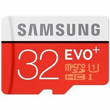 Samsung Evo Plus 32GB Up to 80MB/s Micro SD SDHC Class 10 UHS-I Memory Card