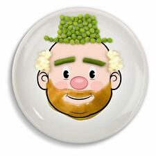Mr Food Face Plate Make Meals Fun Novelty Kids Face Dinner Plates