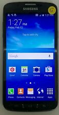 Samsung Galaxy S4 Active I537 4G ATT ONLY Black CellPhone Android GOOD w/o CAP