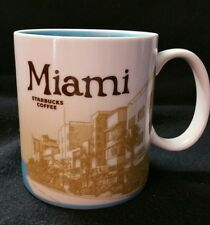 2011 Starbucks Coffee Mug Cup Miami 16 oz