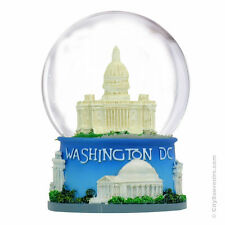Washington DC Snow Globe  ZZ-WG153DCA*, 3.5 Inches Tall
