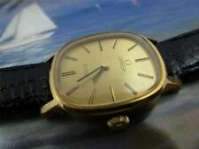 Beautiful, Classic Omega Gold Plated Ladies HandWind