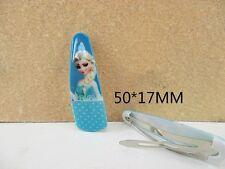 5 x 50mm Elsa da Frozen capelli diapositive, dormiglioni Look prezzo ridotto solo 99p