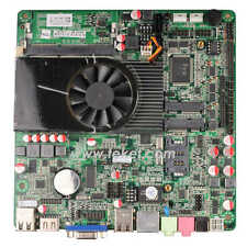 Intel Atom D2550 All-in-One thin Mini-ITX Mainboard D2550MT1.8GHz fan 20mm HDMI