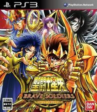 PS3 Knights of the Zodiac Saint Seiya - Brave Soldiers - Japan Import F/S