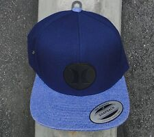 Hurley Surfing Co. M Icon Vapor 2.1 Blue Snapback Hat Cap HTHRL-62