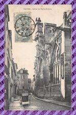 CPA 10 - TROYES - campanario de la iglesia San jean
