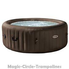 Intex Whirlpool 4 Person Jet Spa Aufblasbar Badewanne Outdoor mit heizung