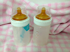 Vintage Gerber Drop In Bottles 4 Ounce With Latex Nipples Takes Playtex Drop Ins