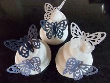 15 PRETAGLIO Viola Mix wafer edibile/carta di riso Farfalle torta/