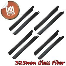 4pairs 325mm Glass Fiber Main Rotor Blade for Trex 450 V2/SPORT/PRO RC Heli U
