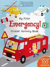 Emergency (Police, Fire, Doctor etc)  Sticker Activity Book over 100 Stickers