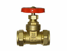 22mm Gate Valve | CxC Brass Gate-Valve