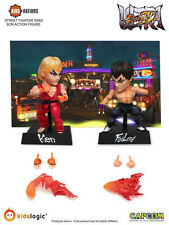 "Kids Logic Ken & Fei Long Ultra Street Fighter IV 4"" Action Figure set"