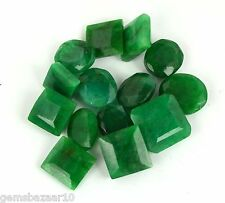 100Ct/14Pcs Ebay Natural Mixed Shape Brazilian Loose Green Emerald Gemstone Lot